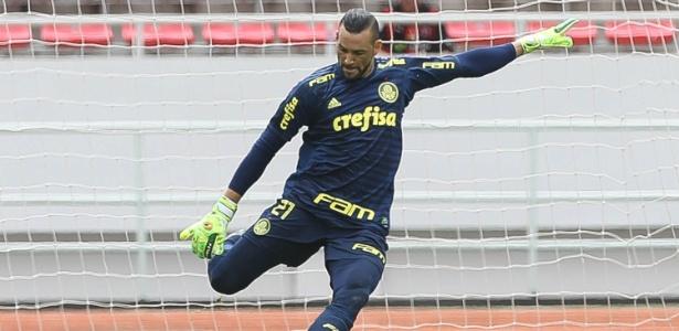 Weverton vem buscando espaço com a camisa do Palmeiras - Cesar Greco/Ag. Palmeiras