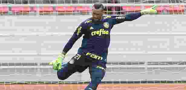 Weverton foi titular nos três amistosos do Palmeiras na intertemporada - Cesar Greco/Ag. Palmeiras
