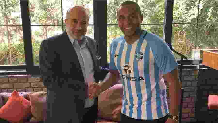 Anderson é apresentado pelo Adana Demirspor, da Turquia - Divulgação