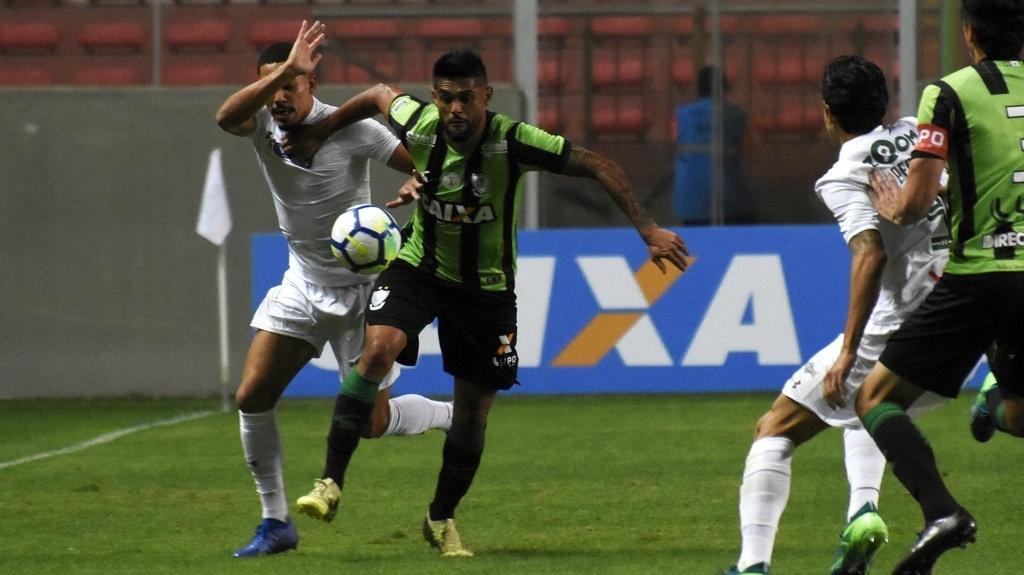 Fluminense empatou em 0 a 0 com o América