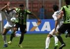 Gilberto reconhece falta de capricho do Flu, mas celebra ponto conquistado (Foto: MAILSON SANTANA/FLUMINENSE FC. .)