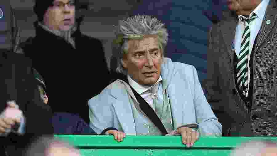 Fãs foram pegos de surpresa com a declaração de Rod Stewart em um evento beneficente; cantor está curado - Ian MacNicol/Getty Images