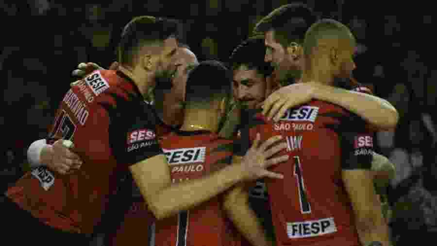Sesi-SP vence a primeira da final da Superliga Masculina contra Taubaté - Everton Amaro/Fiesp