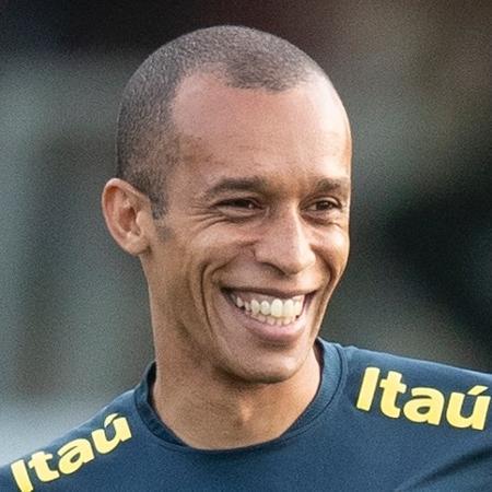 Miranda, durante treino da seleção brasileira antes da Copa América - Lucas Figueiredo/CBF