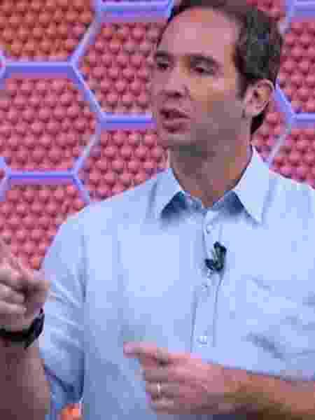 Caio Ribeiro, comentarista da TV Globo - Reprodução / TV Globo