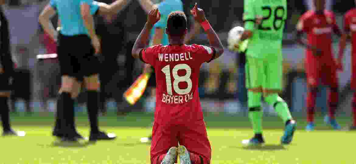Wendell, durante jogo do Bayer Leverkusen - TF-Images/Getty Images