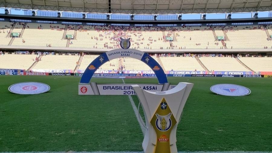 Arena Castelão vai receber Fortaleza x Palmeiras neste domingo pelo Campeonato Brasileiro - Reprodução/Twitter