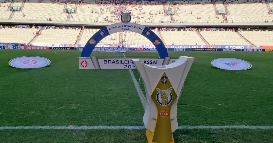Arena Castelão pronta para receber Fortaleza x Internacional, pela 15ª rodada do Brasileirão