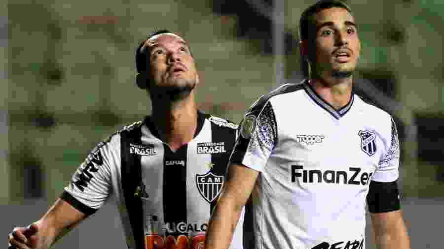 Atlético-MG e Ceará se enfrentaram na noite de ontem pela 22ª rodada do Campeonato Brasileiro - Fernando Moreno/AGIF