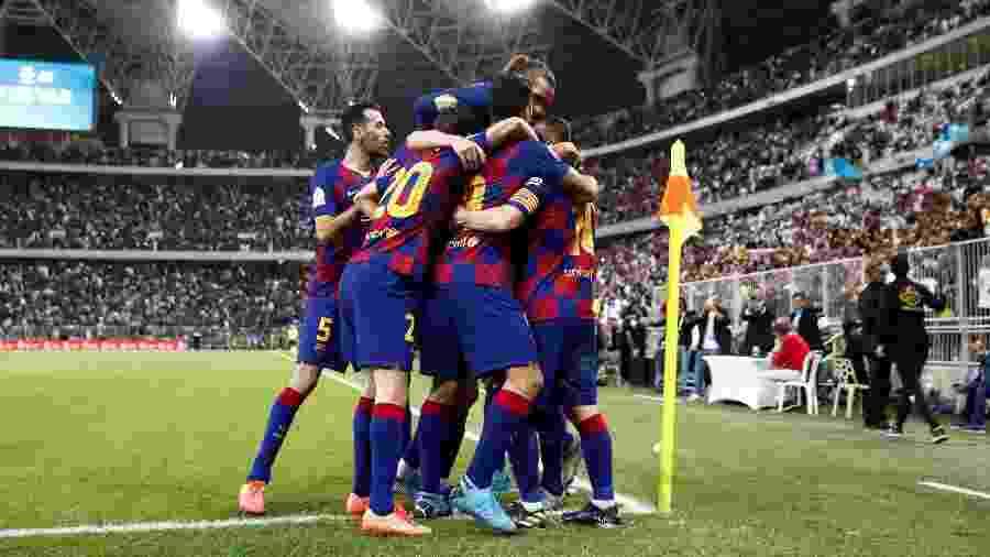 Jogadores do Barcelona não têm acordo sobre redução salarial durante pandemia - Sergio Perez/Reuters