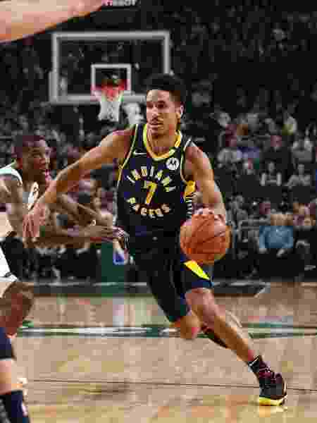 Malcolm Brogdon, do Indiana Pacers - Gary Dineen/NBAE via Getty Images