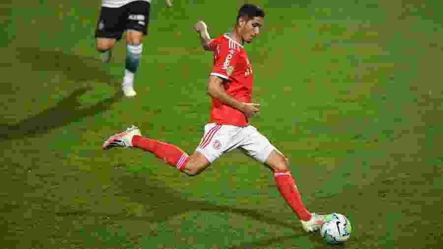 Praxedes, jogador do Internacional, é considerado o próximo a render financeiramente - Ricardo Duarte/Internacional