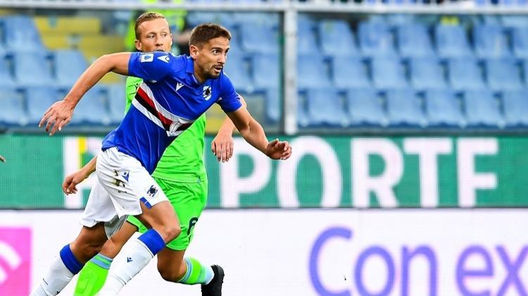 Gaston Rameres, centrocampista ofensivo de Zamboria, en un partido contra Lazio - Comunicado de prensa / Zamboria - Comunicado de prensa / Zamboria
