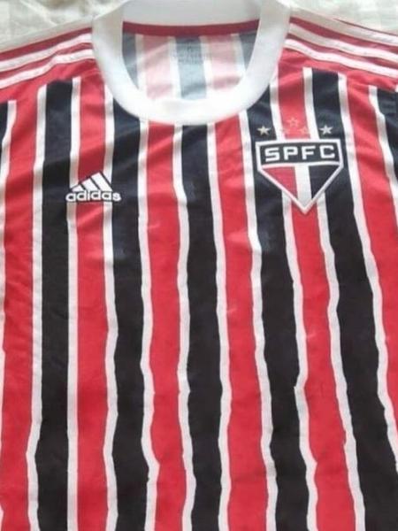 Suposta nova camisa do reserva do São Paulo para 2021 - Reprodução / Twitter