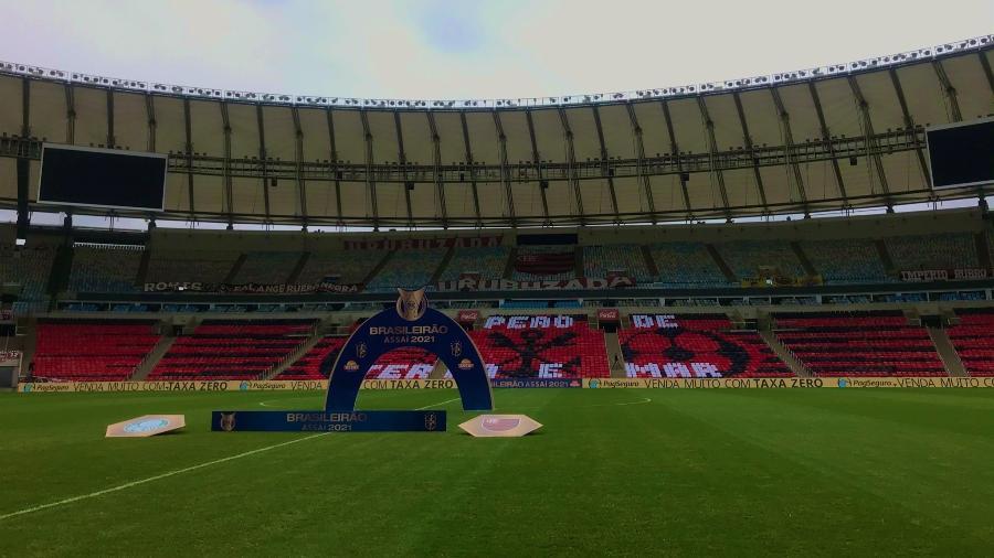 Maracanã recebe Flamengo x Palmeiras neste domingo, pelo Brasileirão - Flamengo