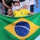 Jade Barbosa se emociona com conquista de Rebeca Andrade - Ricardo Bufolin/CBG