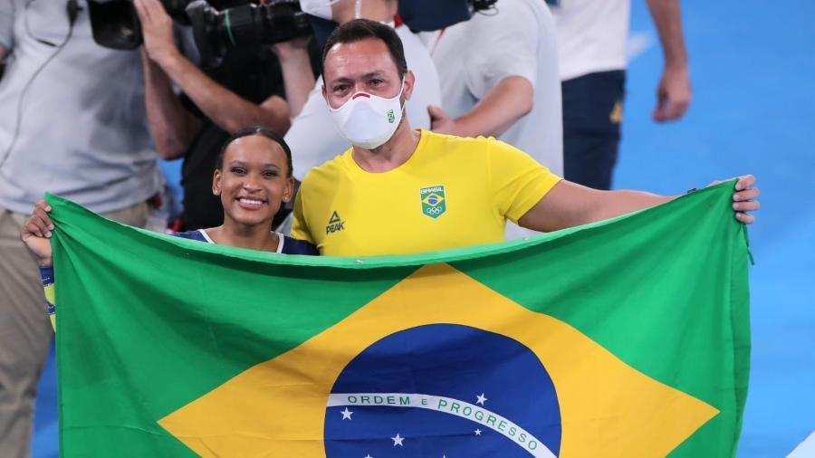 Rebeca Andrade conquista a medalha de prata no individual geral em Tóquio - Ricardo Bufolin/CBG