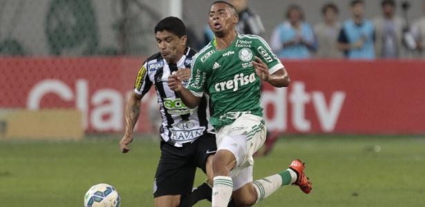 Gabriel Jesus foi revelação do Palmeiras em 2015 - Miguel Schincariol/AFP