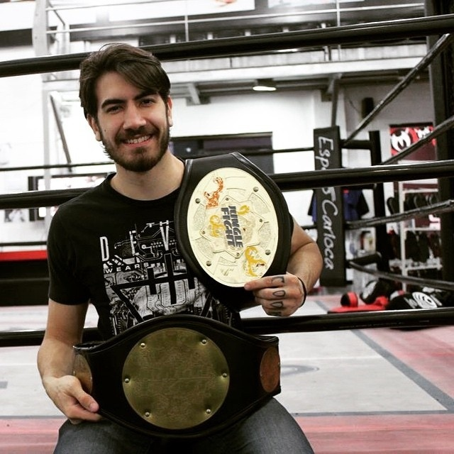 Jonas Bilharinho, atleta do Jungle Fight