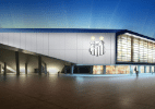 Imagens do projeto da Arena Santos - Divulgação / Conexão 3