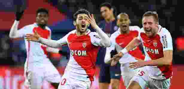 Bernardo Silva é uma das promessas que despontaram no Monaco - Franck Fife/AFP
