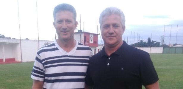 Roberto e Roni Moraes, dois dos três irmãos que comandam o Boa Esporte