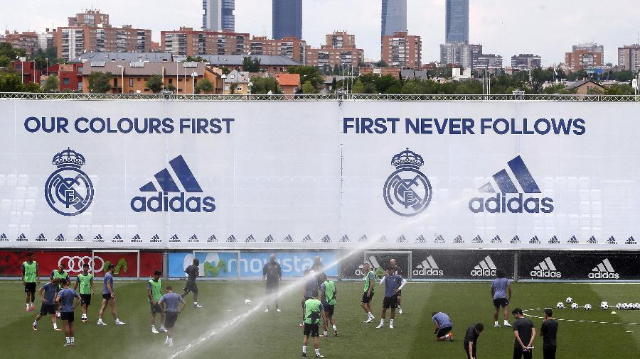 Real Madrid treina para final da Liga dos Campeões - Mariscal/EFE