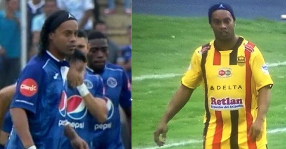 Ronaldinho Gaúcho participou de Jogo da Paz em Honduras