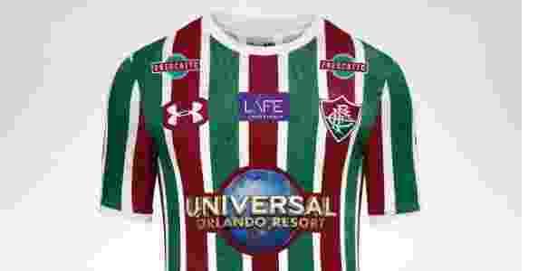 Camisa do Fluminense com novo patrocinador - Reprodução - Reprodução