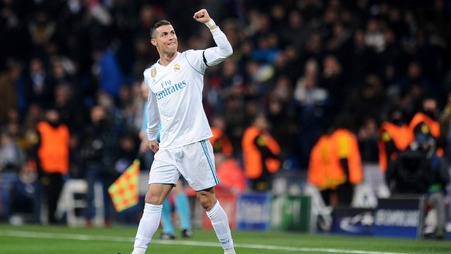 Cristiano Ronaldo comemora gol sobre o Borussia Dortmund