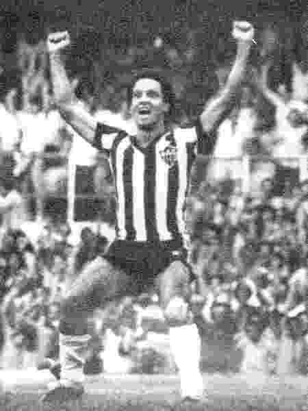 Atacante Reinaldo, do Atlético-MG, em 1977 - Folhapress - Folhapress