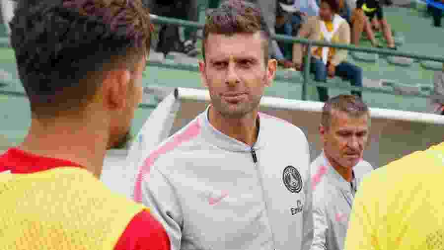 Thiago Motta deixou cargo de técnico sub-19 do PSG - Divulgação
