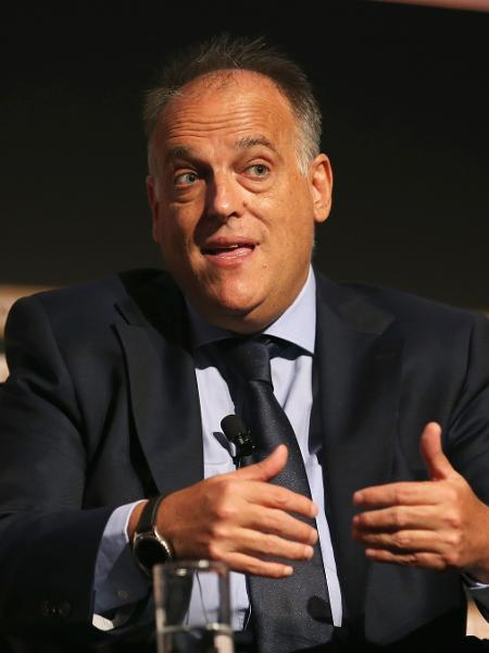 Javier Tebas, presidente da LaLiga - Jan Kruger/Getty Images