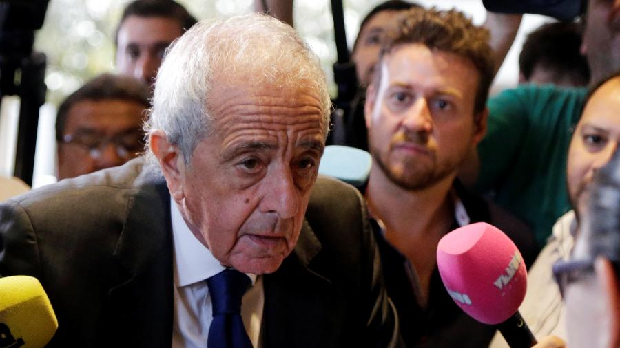 """Para Rodolfo D""""Onofrio, por """"vantagem esportiva"""" do River, final da Libertadores deve ser no Monumental de Nuñez - Jorge Adorno/Reuters"""