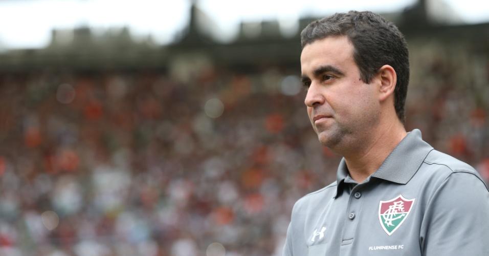 Fábio Moreno comanda o Fluminense diante do América-MG após a demissão de Marcelo Oliveira