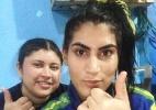 Lutadores fazem treino de judô em velório de colega morta a tiros em Manaus - Arquivo pessoal