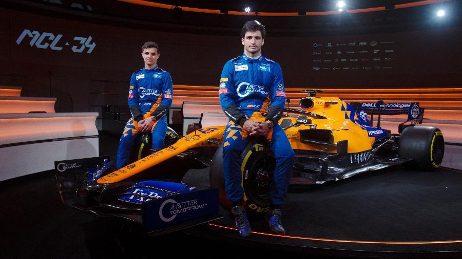 Campanha da BAT estampa macacões da equipe McLaren - Divulgação