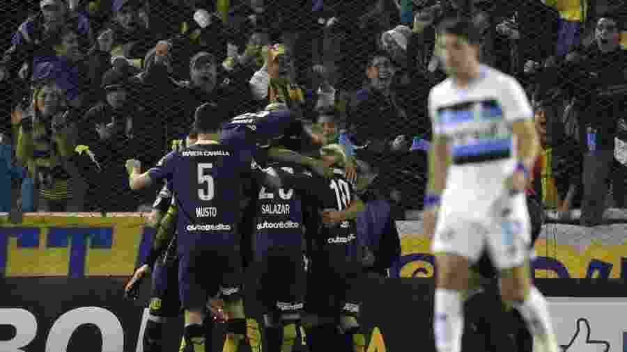 Rosario Central eliminou o Grêmio nas oitavas de final da Libertadores de 2016 - Juan Mabromata/AFP