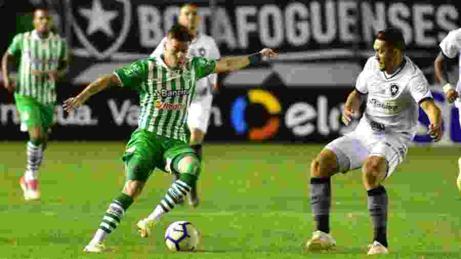 Juventude e Botafogo fizeram jogo disputado pela Copa do Brasil e os gaúchos levaram a melhor - Arthur Dallegrave | ECJuventude