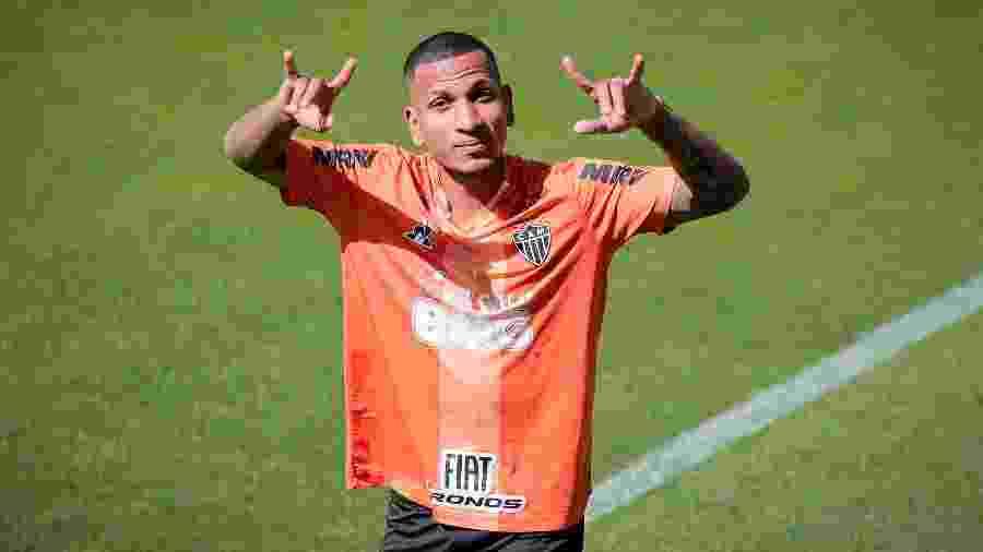 Rómulo Otero, meia-atacante do Atlético-MG, deve ser titular contra a Chapecoense - Bruno Cantini/Atlético-MG/Divulgação