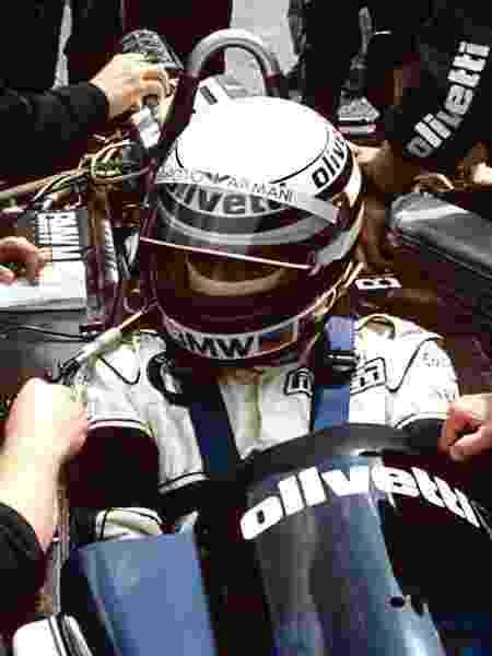 Patrese 1986 Brabham - Paul-Henri Cahier/Getty Images - Paul-Henri Cahier/Getty Images