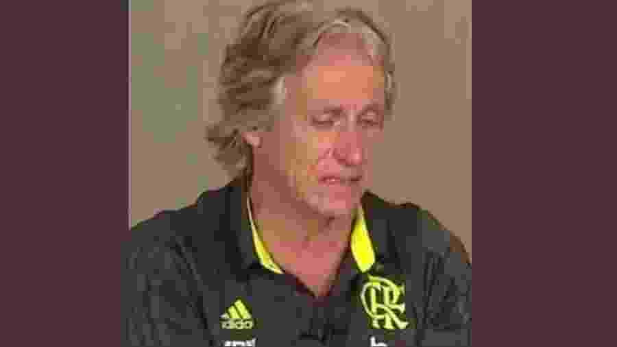 Jorge Jesus descobre que Balotelli não vai para o Flamengo - Reprodução