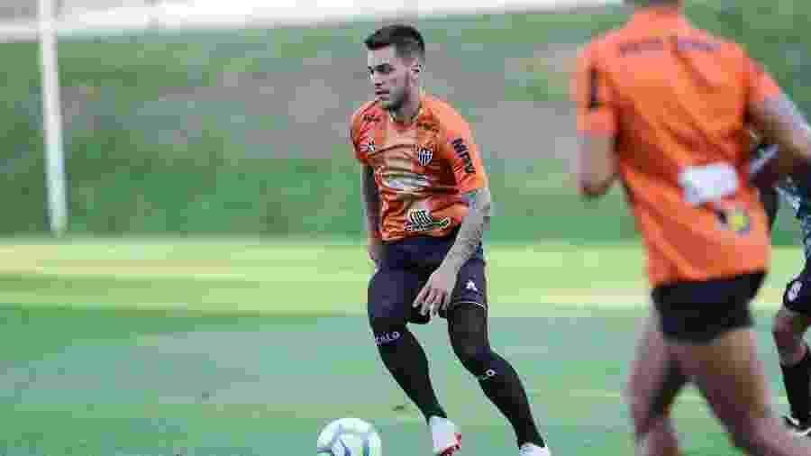 Nathan, meia-atacante do Atlético-MG, ganha espaço com lesão de Juan Cazares - Bruno Cantini/Divulgação/Atlético-MG