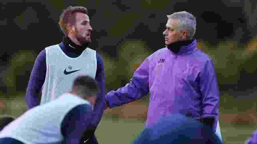 José Mourinho não conta com Harry Kane por muito tempo no Tottenham - Tottenham Hotspur FC/Tottenham Hotspur FC via Getty Images