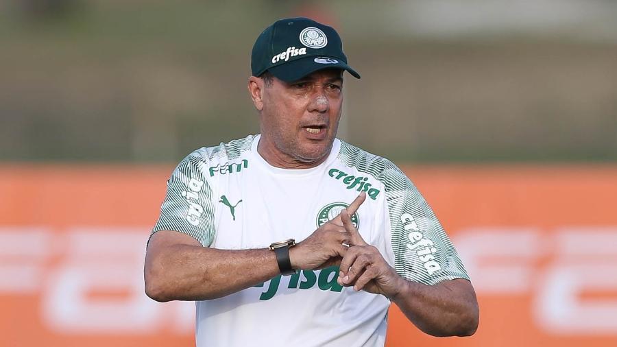 Vanderlei Luxemburgo comanda treino do Palmeiras nos Estados Unidos - Cesar Greco/Ag. Palmeiras/Divulgação