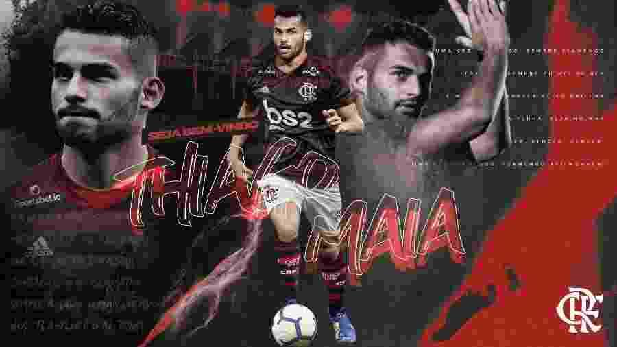 Flamengo anuncia contratação de Thiago Maia para temporada 2020 - Flamengo