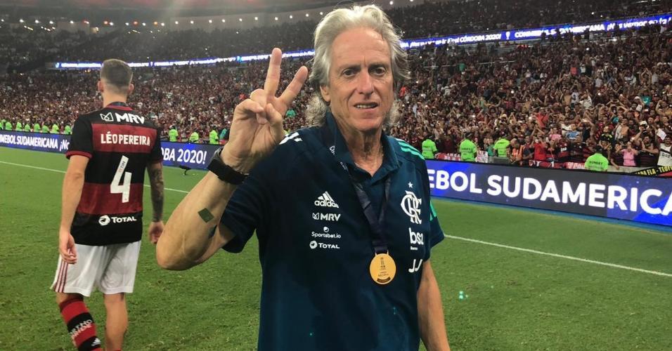 Jorge Jesus, após o título do Flamengo na Recopa