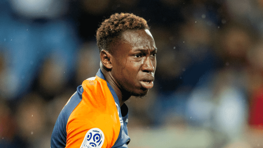 Junior Sambia, jogador do Montpellier - Tim Clayton/Corbis via Getty Images