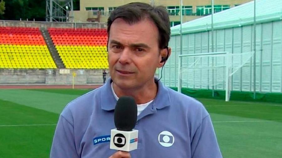 """O jornalista Tino Marcos assumiu torcida pelo Flamengo no """"Mais Você"""" - Reprodução"""