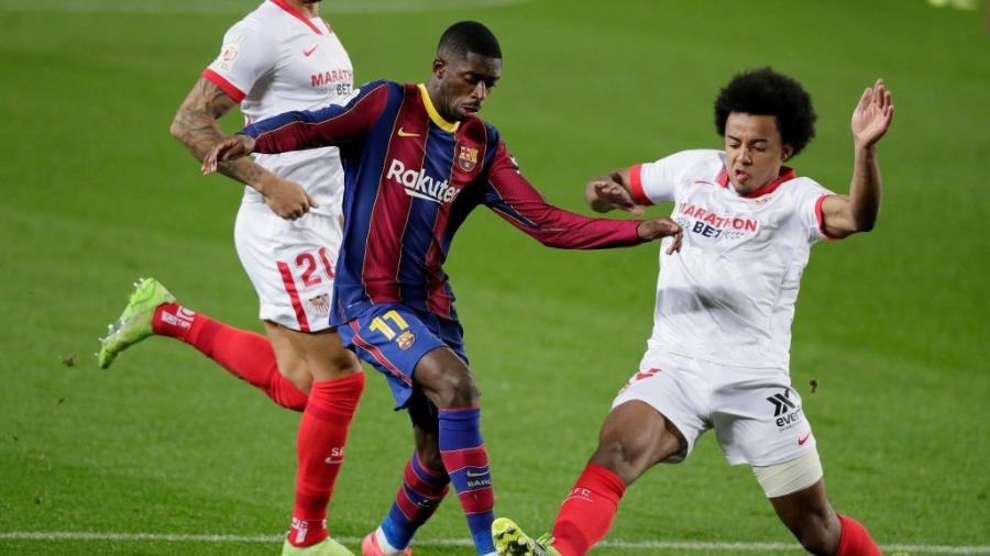 Barcelona e Sevilla se enfrentam pela Copa do Rei - David S. Bustamante/Soccrates/Getty Images